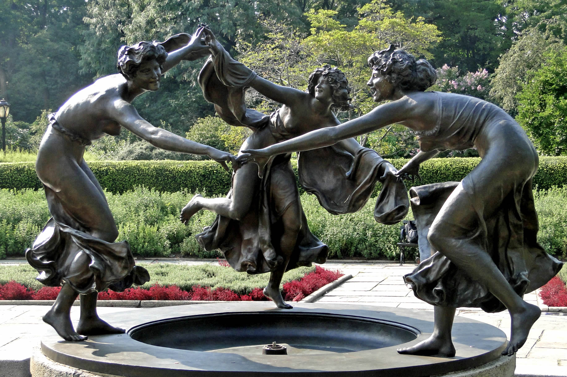 Conservatory Garden Central Park - Untermyer Fountain