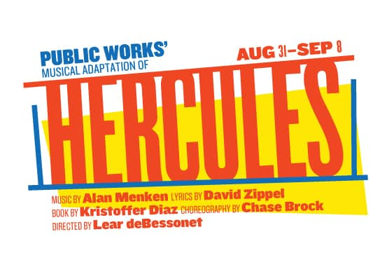 Hercules at the Delacorte