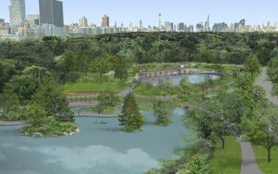 Central Park's Lasker Rink & Pool in $150 Million Park Restoration