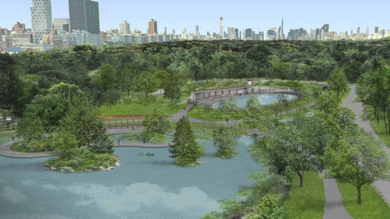 Central Park's Lasker Rink & Pool in $150 Million Park Restoration